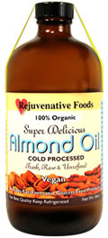 Almond Oil jar
