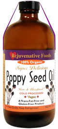 Poppy Seed Oil Bottle